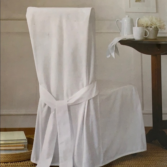 Dining Room Chair Slipcover in White NWOT NWT